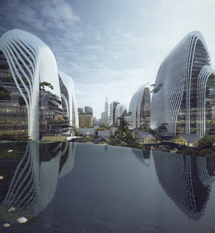 1. MAD_12004_Nanjing Zendai Himalayas Center_i_02_rendering_view from the sky lake