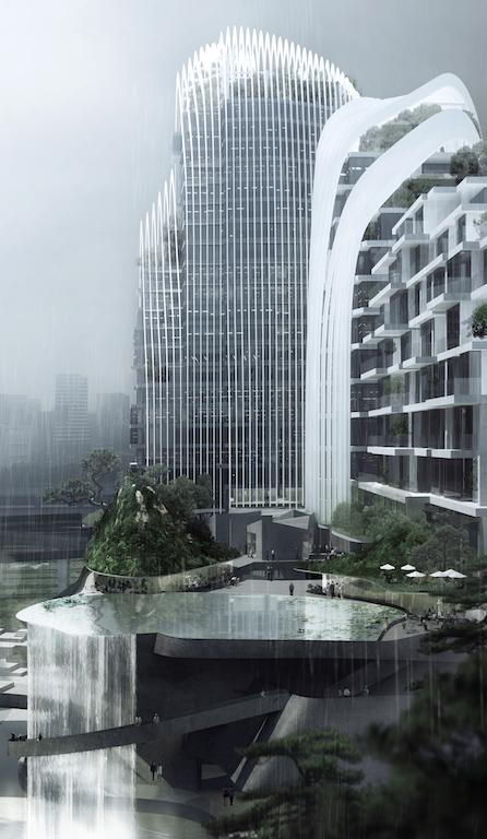 3. MAD_12004_Nanjing Zendai Himalayas Center_i_03_rendering_view of sky lake