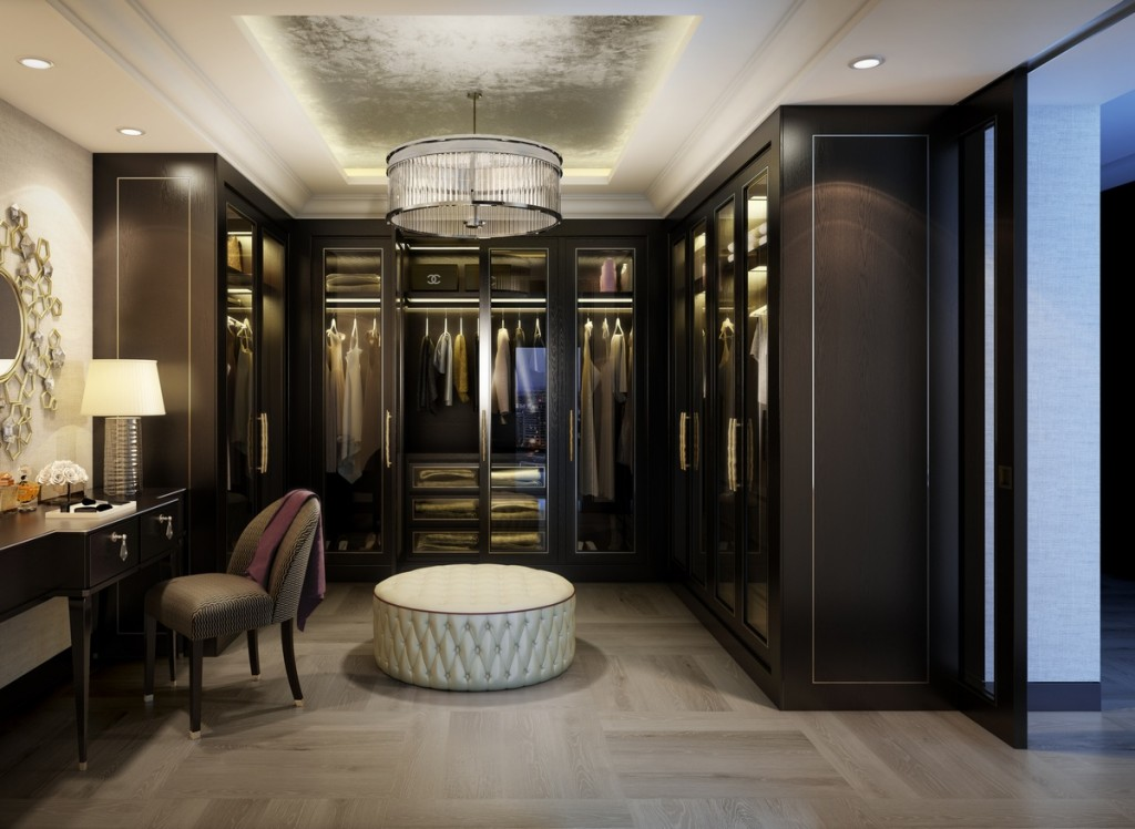 CGI of Platinum Penthouse Dressing Room