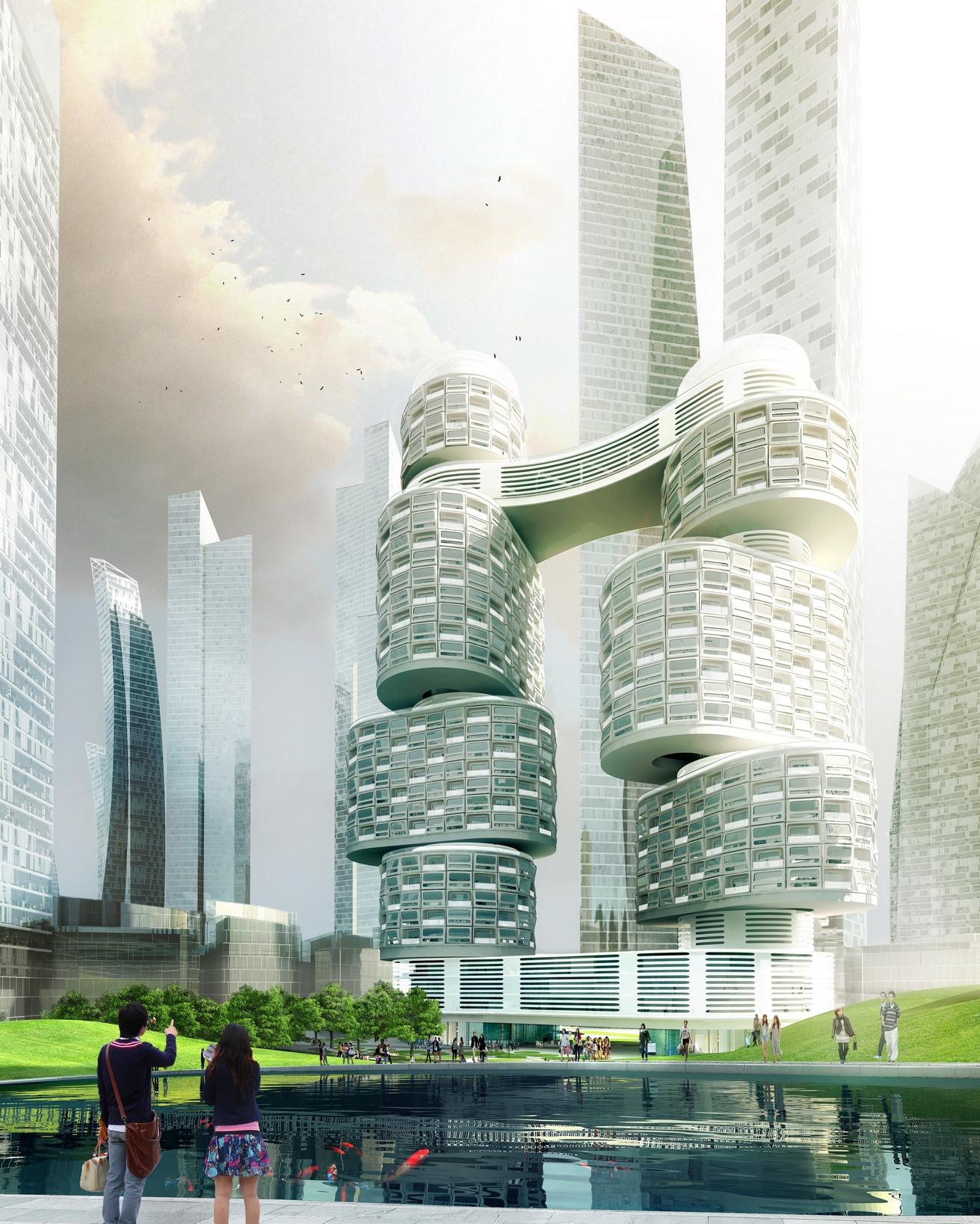 美好境界五 科幻建筑见证未来世界