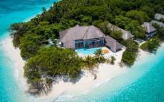 Villa Sunrise - aerial view - Sphere Estates
