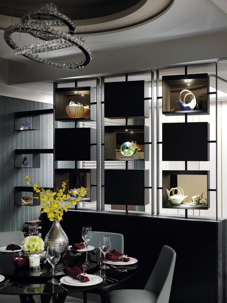 17 餐廳休閒區展示櫃 H001760