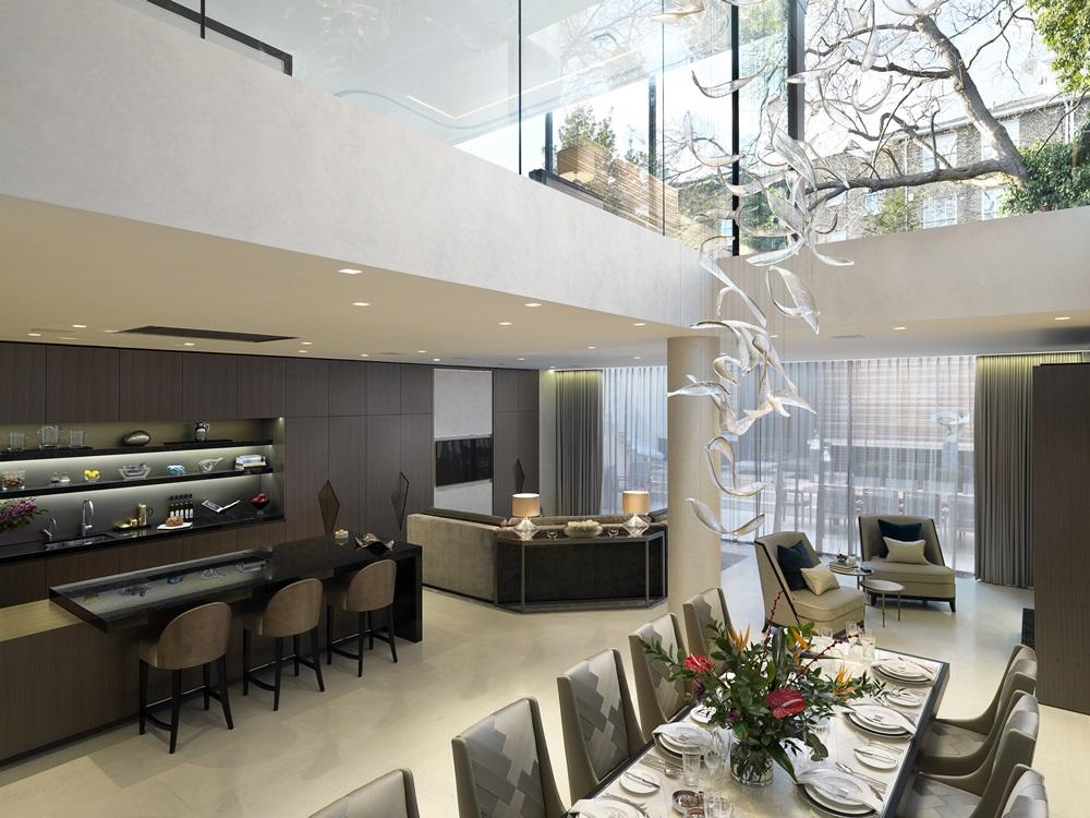 Morpheus London_Ashberg House_Dining Area_