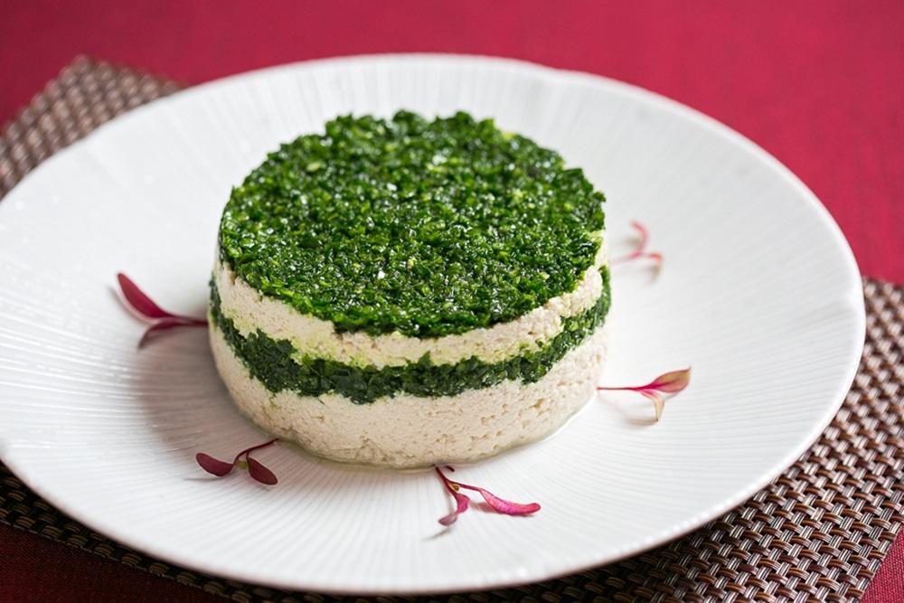 【新聞照片】川菜廳推出北京研習新菜-小蔥豆腐