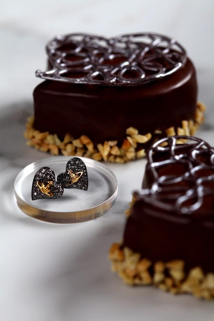 【新聞附圖】北緯25_心型巧克力蛋糕