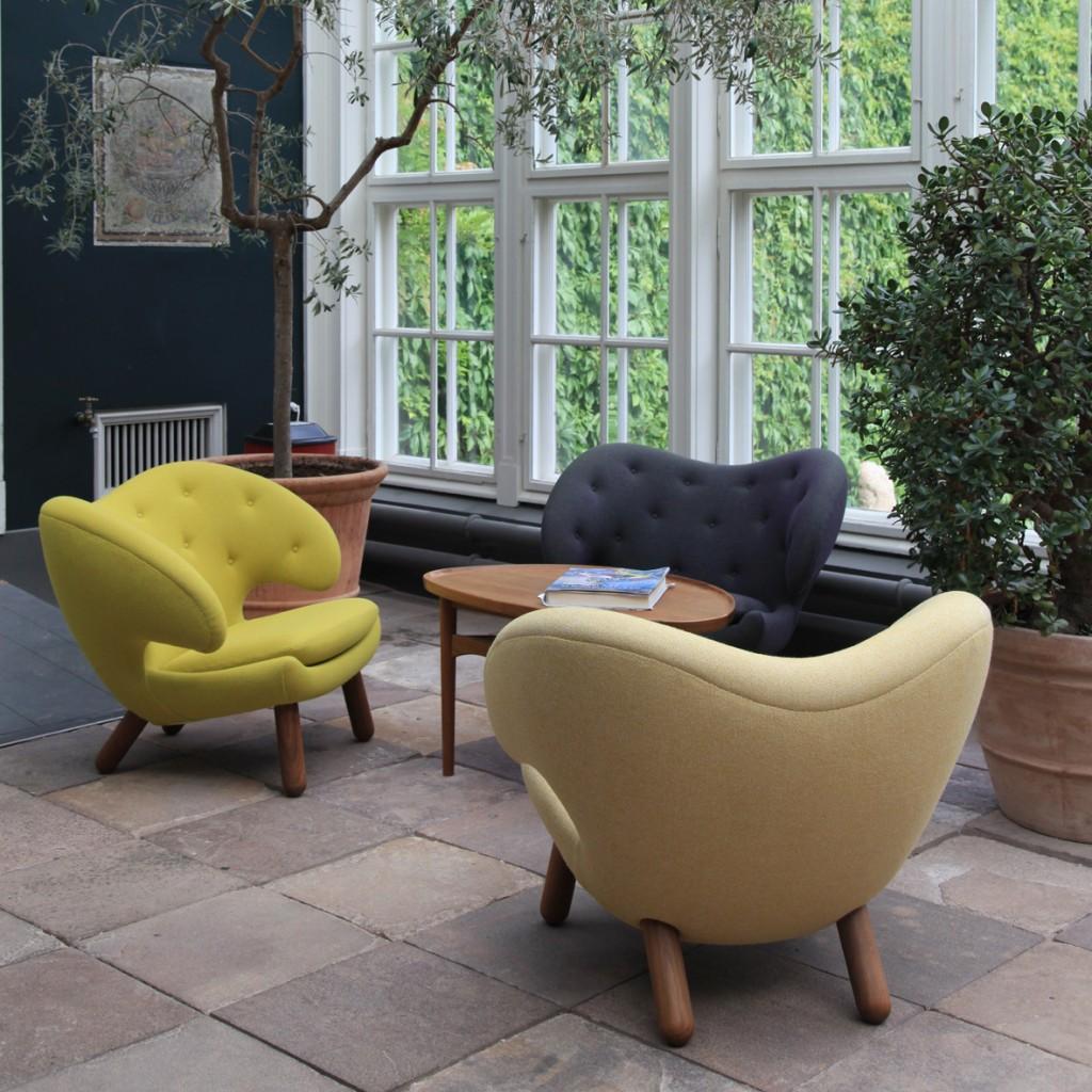 北歐櫥窗-燦爛溫暖月見草黃Primrose Yellow-One Collection Pelican Chair鵜鶘椅-2