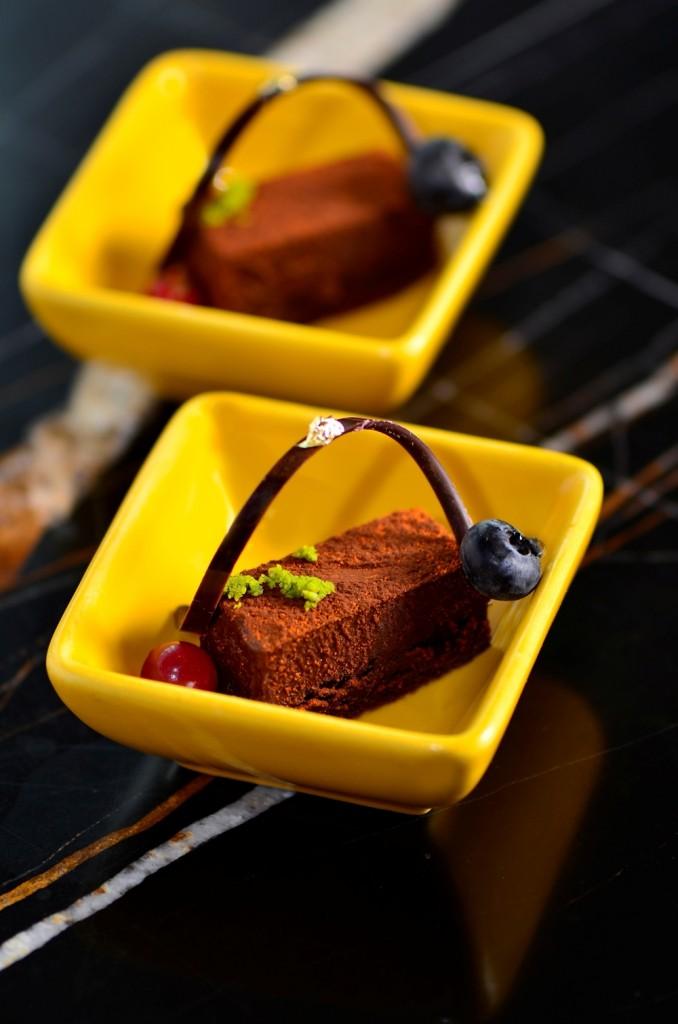 紫艷酒吧 - 狂飲 潮東方下午茶 -嗆辣巧克力蛋糕