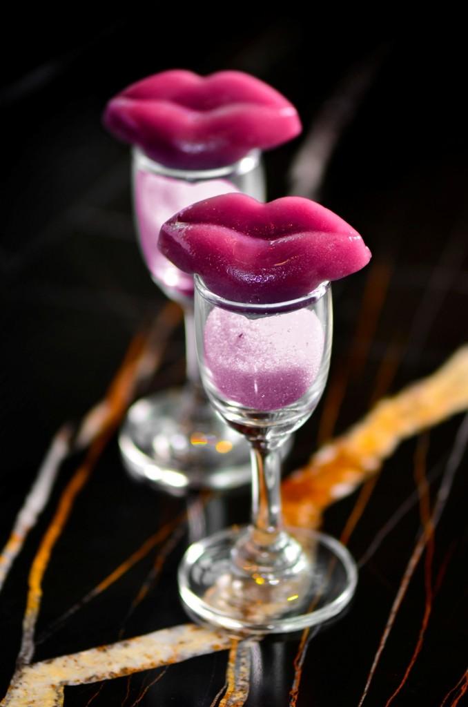 紫艷酒吧 - 狂飲 潮東方下午茶 -紫薯Q唇印