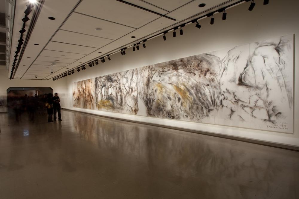 1. Cai Guo-Qiang, Taroko Gorge installation view