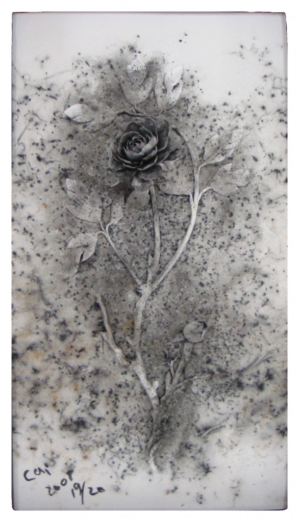 12. Cai Guo-Qiang, Black Peony