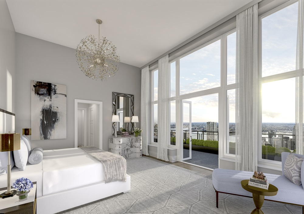 30 Park Place - Four Seasons Private Residences Downtown, New York Master Bedroom (PH78A)