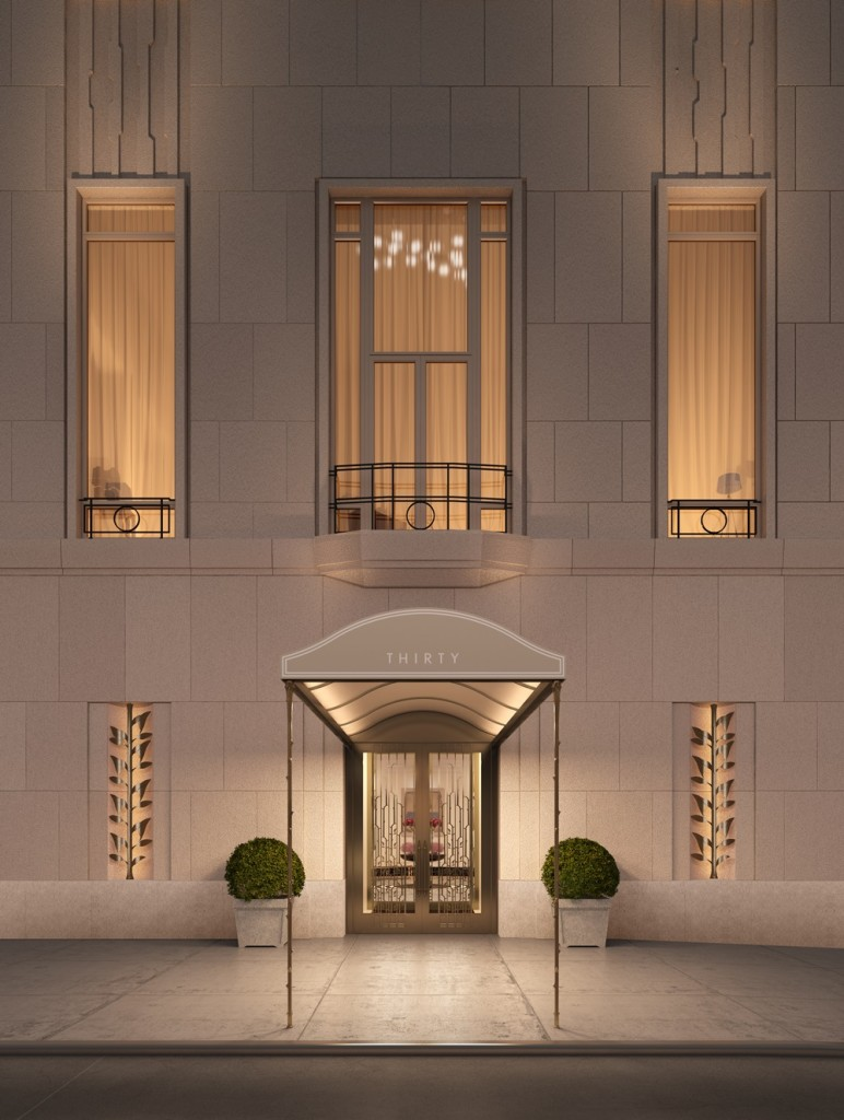 30 Park Place; New York, NY. Robert A.M. Stern Architects. Silverstien Properties. Rendering by Archpartners