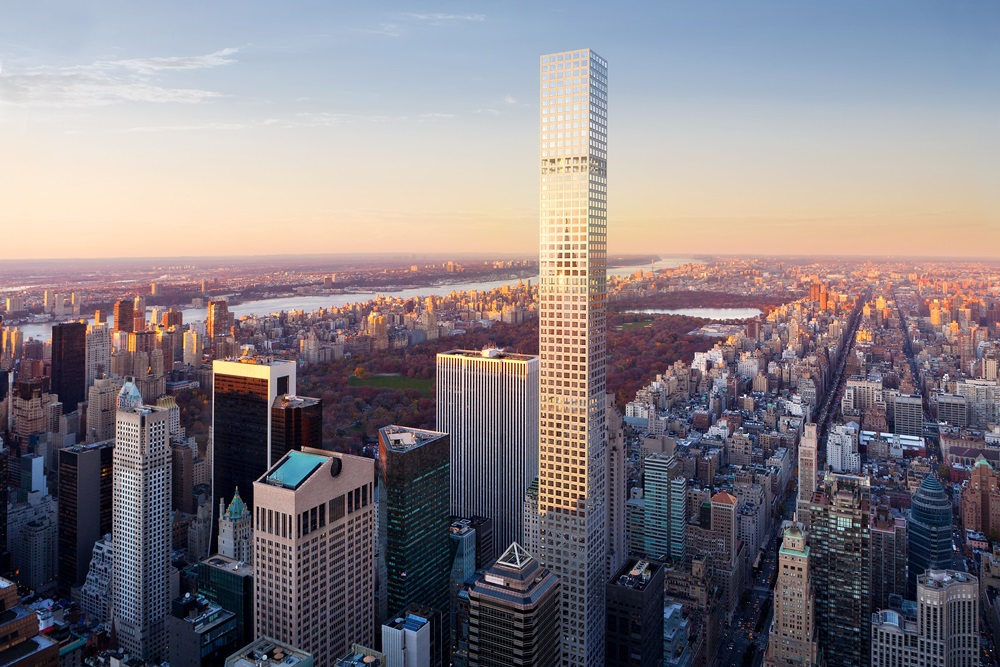 432 Park Avenue - North-West view of New York - Please credit images to dbox for CIM Group & Macklowe Properties
