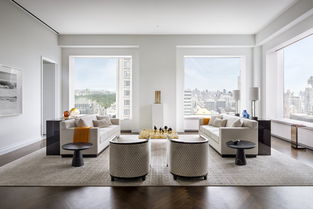 432 Park_Living Room - Photos by Scott Frances for CIM Group