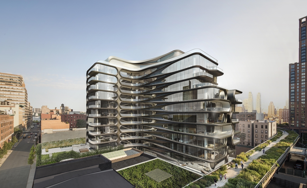520 W 28. Exterior from High Line