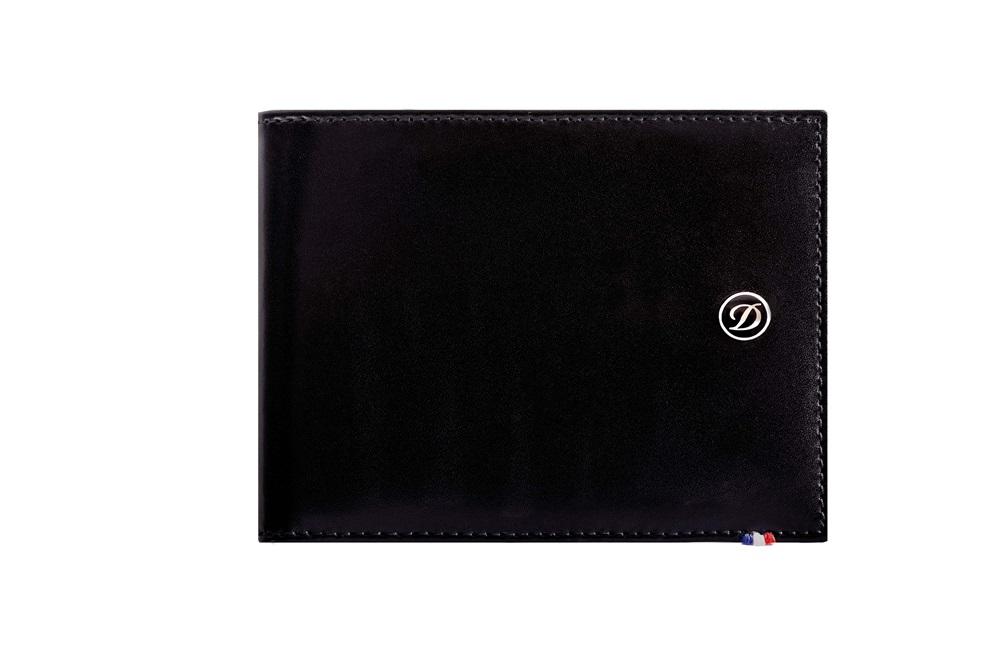 Line D 系列六卡短夾 - 黑色 NT$8,800