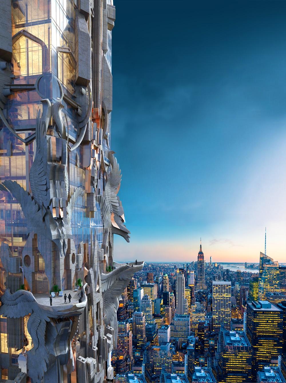 美好境界 -充满科幻色彩 住进未来世界的错觉
