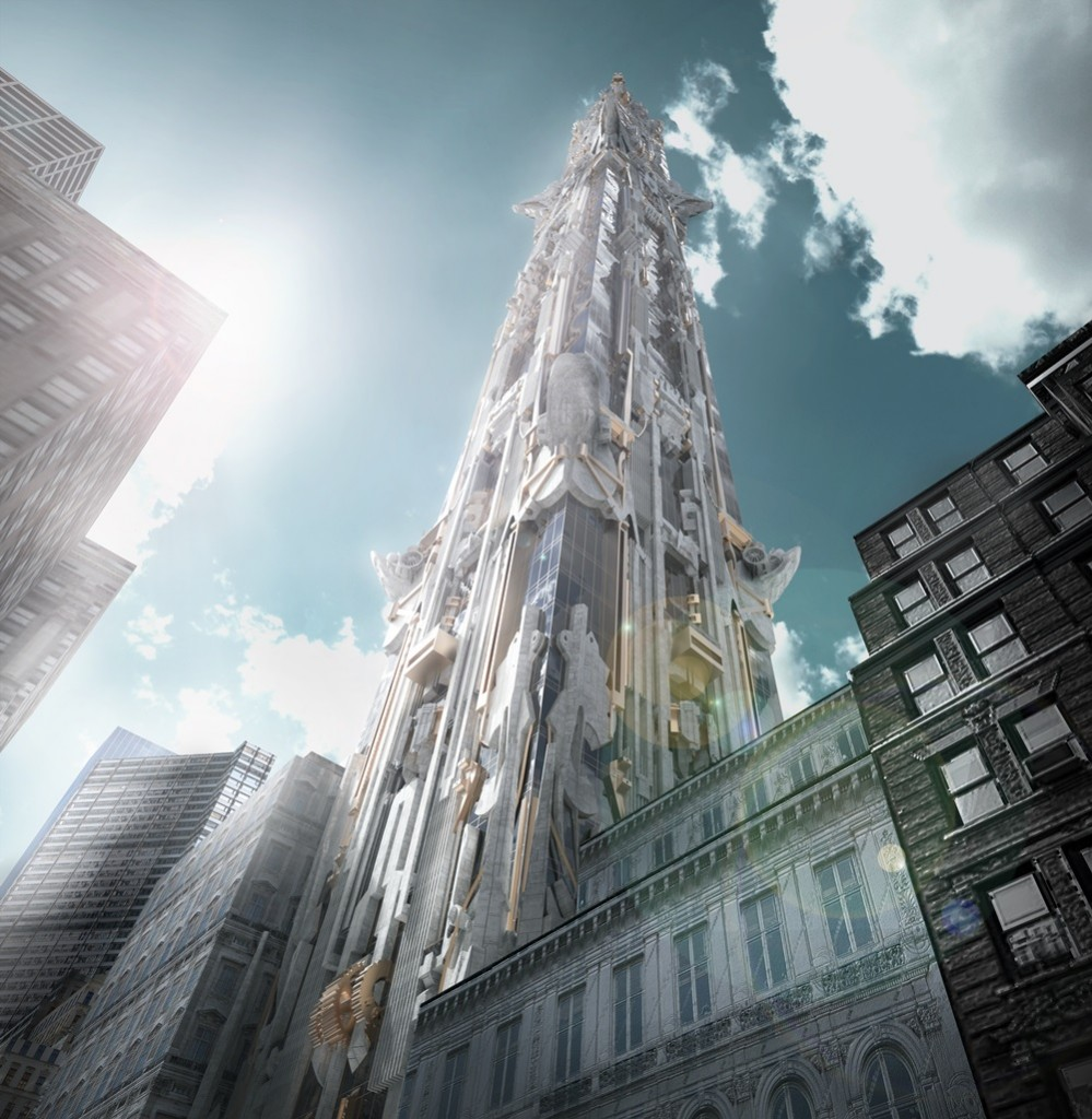 Mark Foster Gage Architects - West 57th Street - View from 57th street a