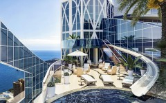 Odeon Tower penthouse slide monaco