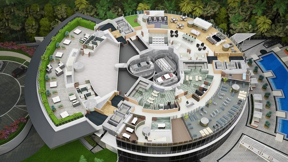 Porsche Design Tower Level 5 Amenity Deck