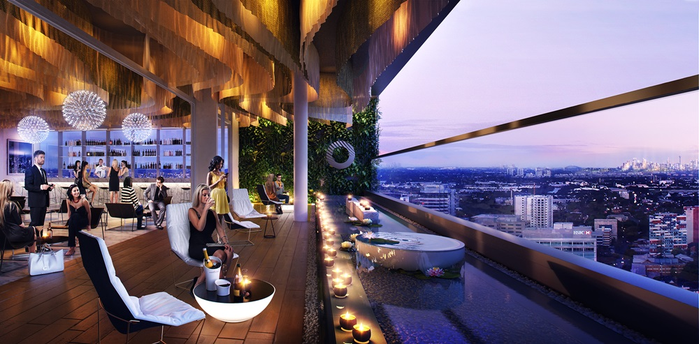V by Crown Group Roof Top Bar