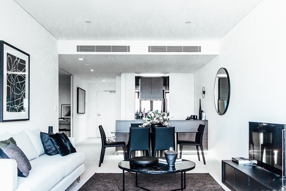 V by Crown Group display apartment 2