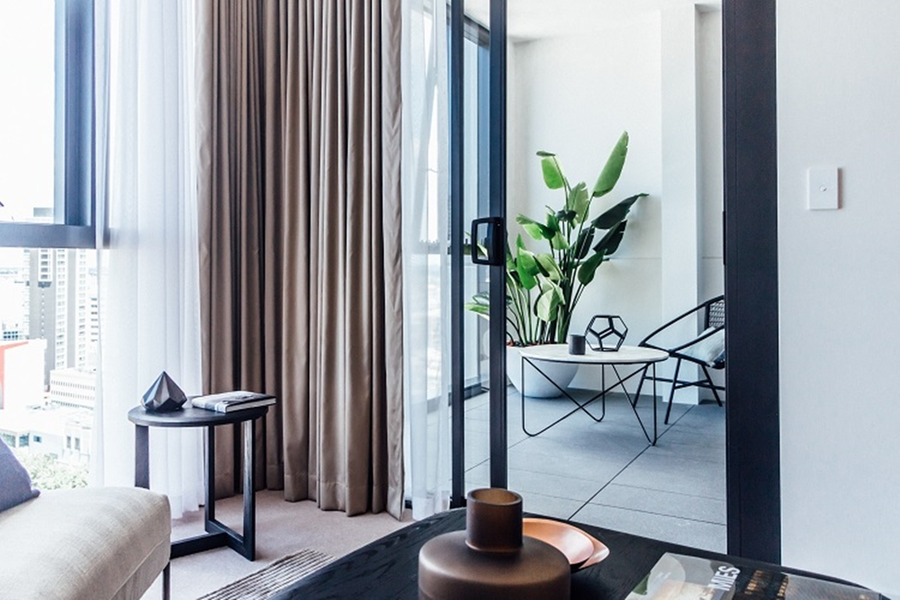 V by Crown Group display apartment