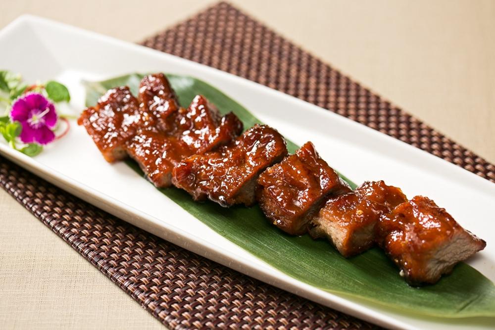 【新聞照片】台北國賓粵菜廳伊比利黑叉燒