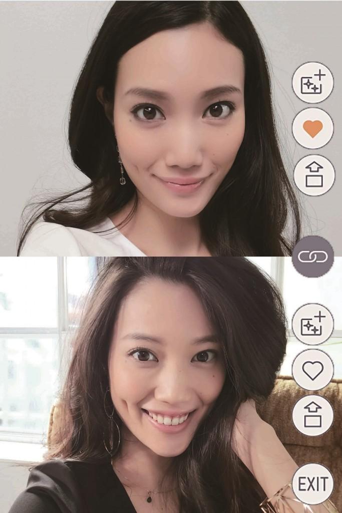圖說五:影像對照模式可同時對兩張照片進行縮放與翻頁等操作