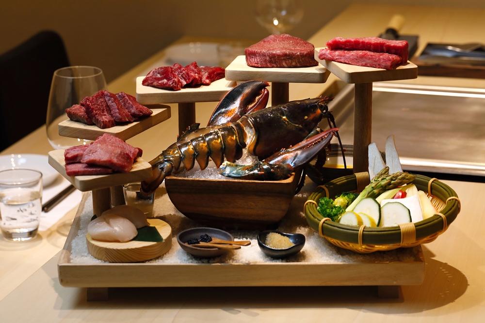 樂軒和牛專門店台中店肉天堂雙人鐵板燒套餐
