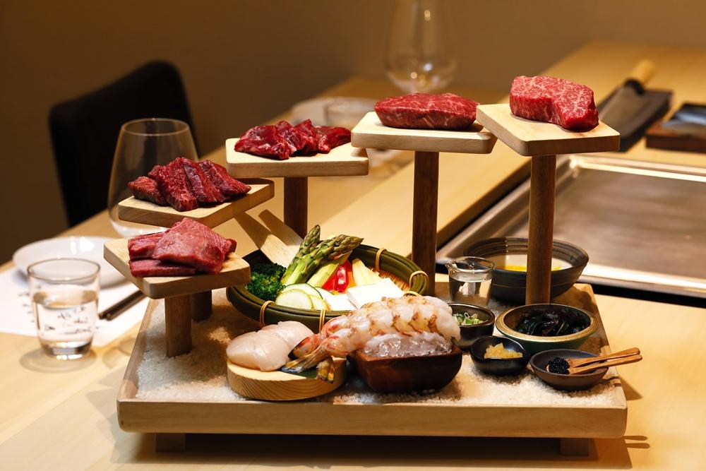 樂軒和牛專門店台中店肉無敵雙人鐵板燒套餐-1