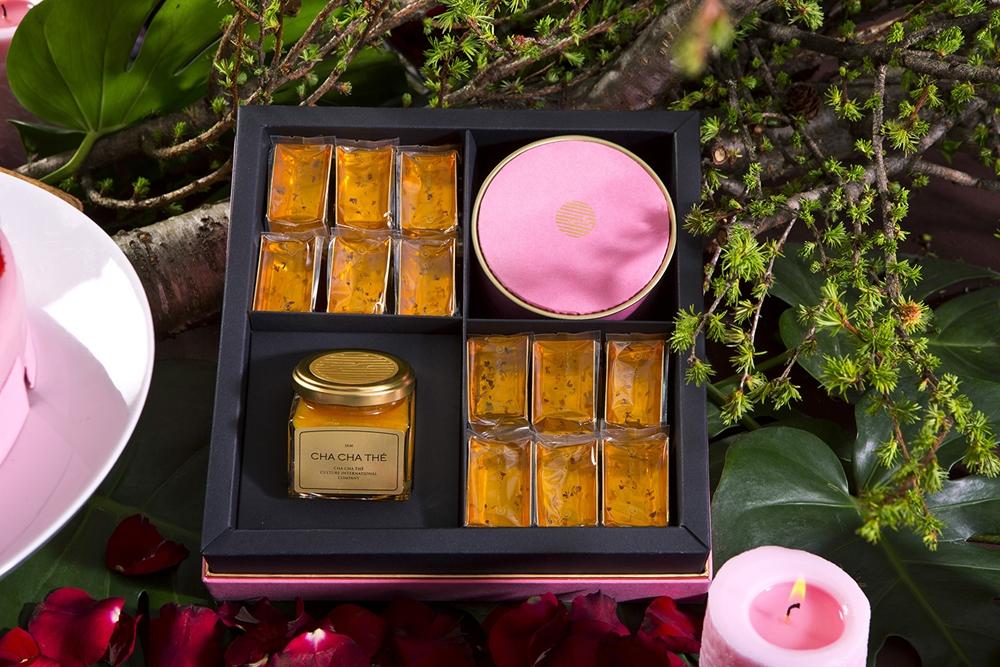 鏤月禮盒- NT2020 (金桔柳橙燕窩果醬+蜂蜜燕窩黃金糖+南投魚池阿薩姆紅茶)