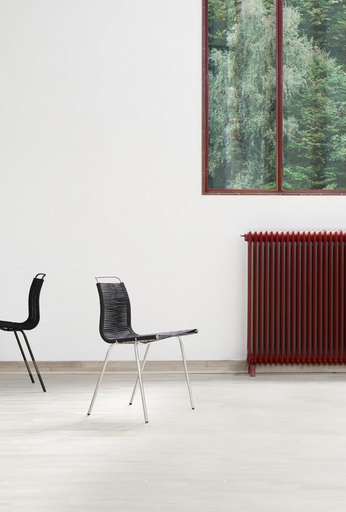 Kjaerholm_PK1-chrome-black-weather-resistant-flag halyard_PK1-black-steel-