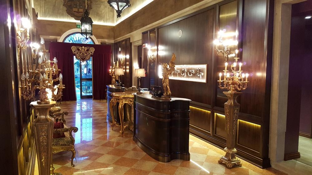 Palazzo Venart Venice Lobby