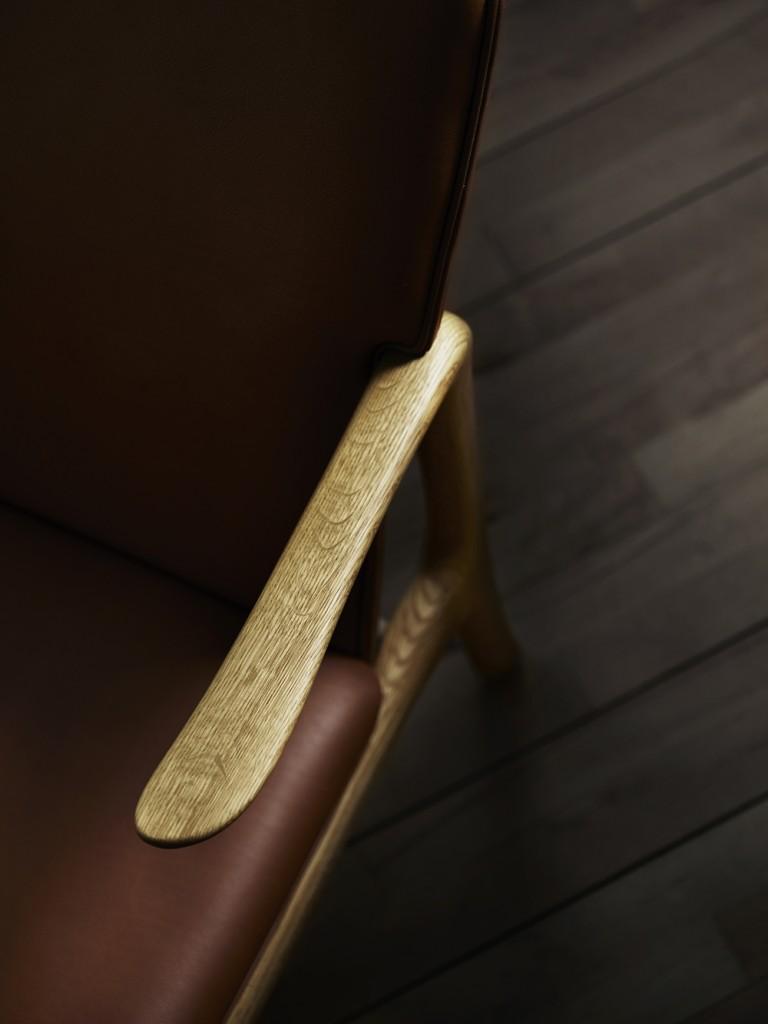 Wanscher_OW124-beak-chair-oak-oil-sif95_Detail-above