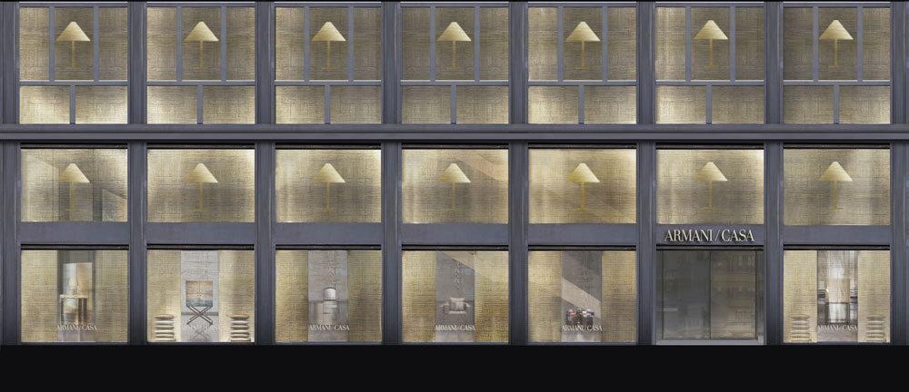 全球最大的 Armani/Casa 店鋪擁有十六扇窗戶