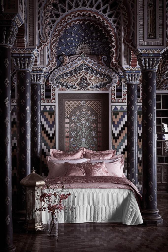 印度之詩系列刺繡緹花四件式床組