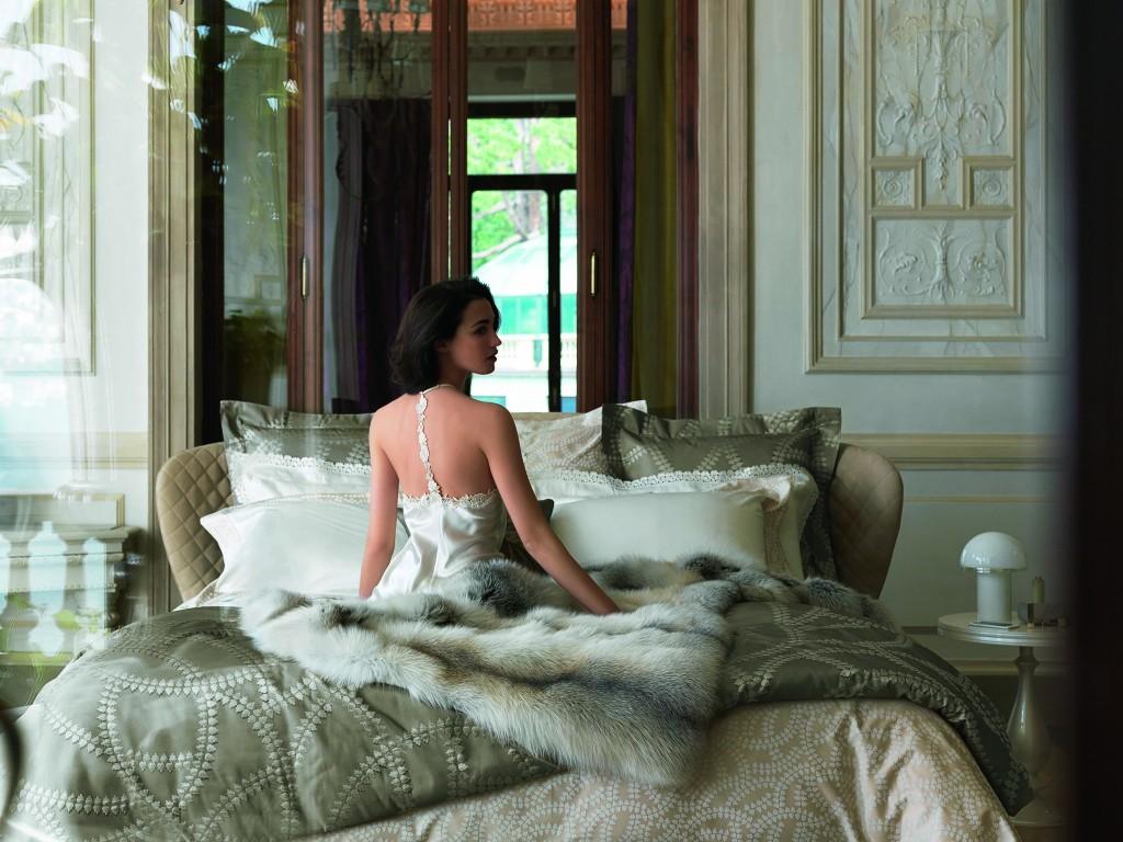 奢華森皮奧內系列紗染緞織四件式床組