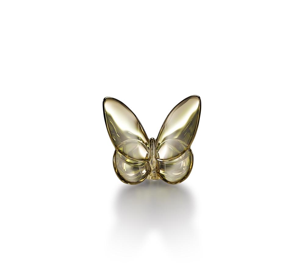 Baccarat 立體蝴蝶金