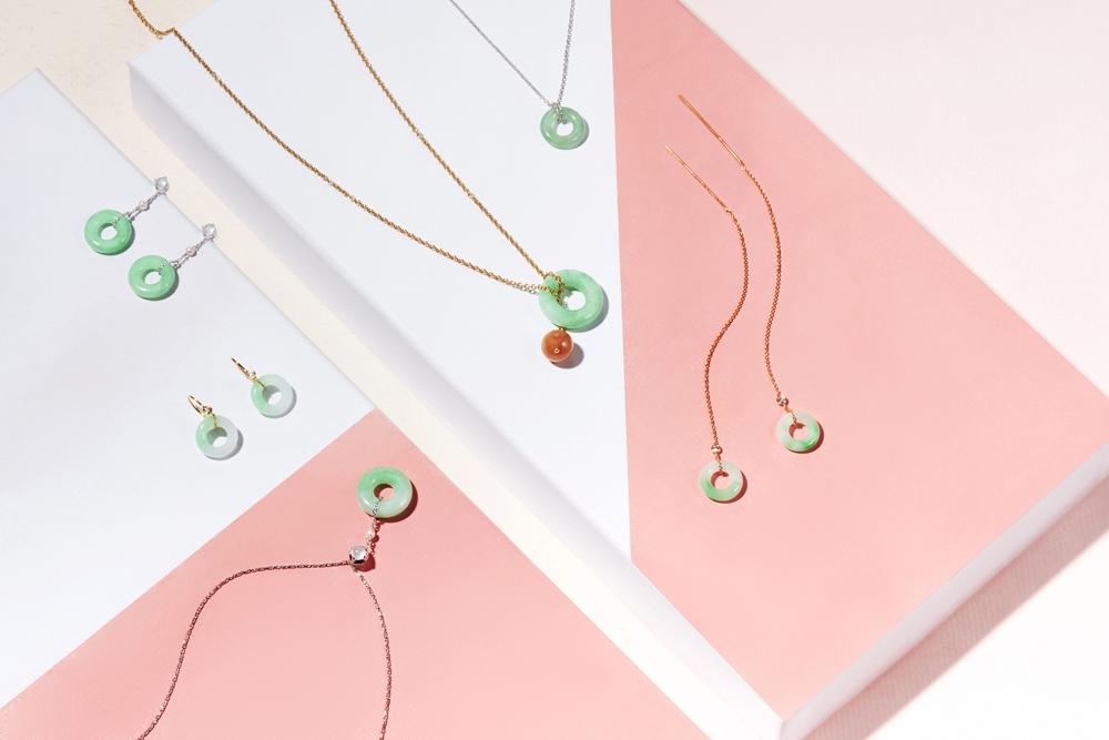 JADEGIA玉世家時尚翡翠入門款【小團圓】系列_3