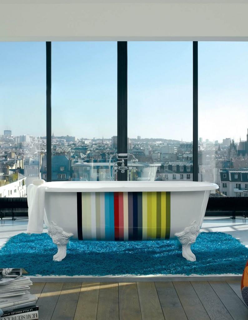 9-1 CLEO 獨立式鑄鐵浴缸