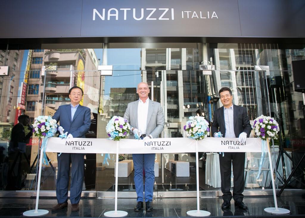 【圖七】NATUZZI新莊旗艦館斥資五千萬打造全球唯一精品家具旗艦館。