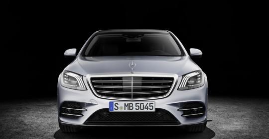 Mercedes-Benz S-Klasse; Langer Radstand; 2017; Exterieur: diamantsilber; AMG Line; Interieur: Leder magmagrau/espressobraun ;  Mercedes-Benz S-Class; long wheelbase; 2017; exterior: diamond silver; AMG line; interior: leather magma grey/espresso brown;