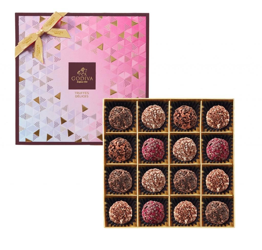 璀璨系列松露巧克力禮盒16顆裝NT$1850