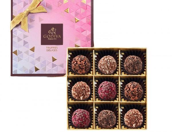 璀璨系列松露巧克力禮盒9顆裝 NT$1150