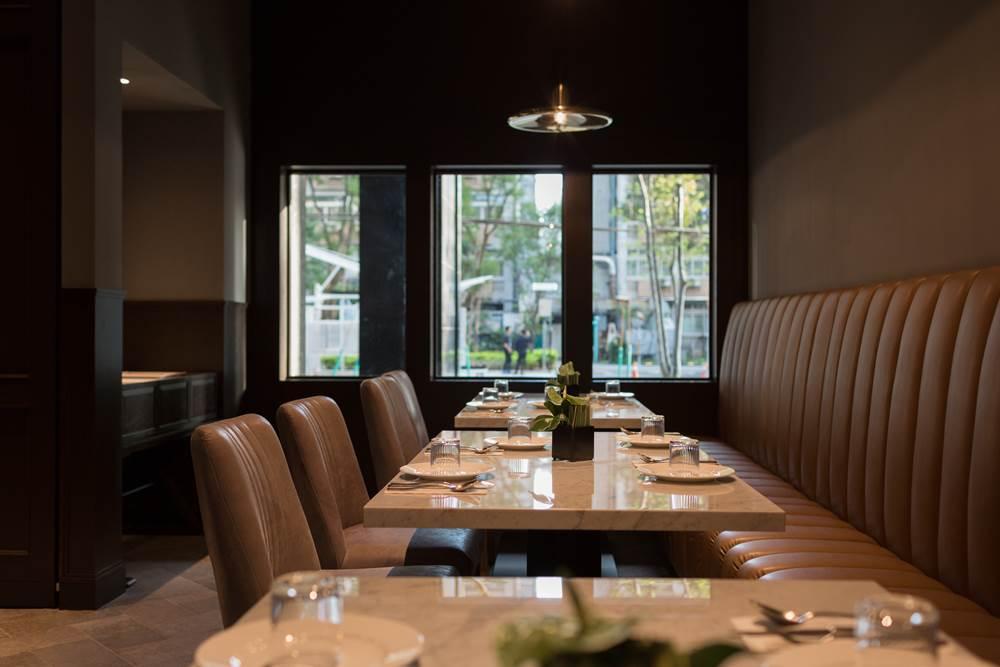 DOMANI 有別於一般鬧區,地點相較隱密,營造出最舒適的用餐環境與美味餐點。