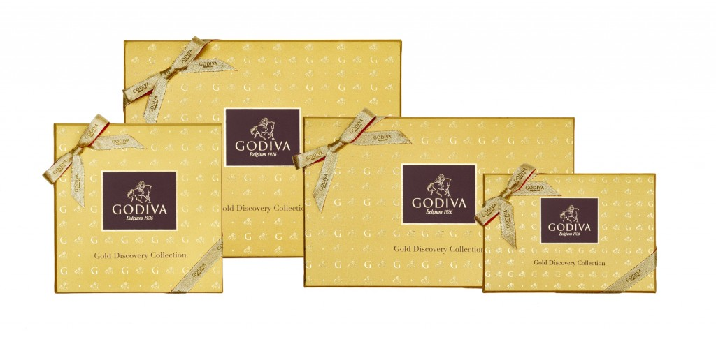 GODIVA金裝品鑑巧克力系列禮盒