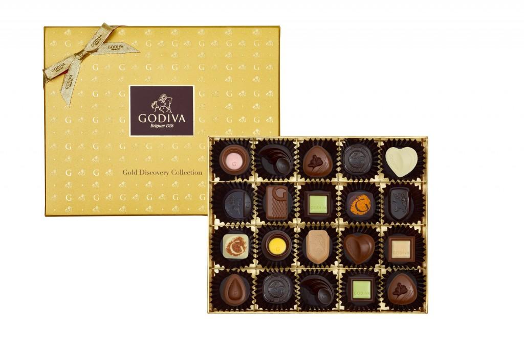 GODIVA金裝品鑑巧克力系列禮盒20顆裝NTD$2100