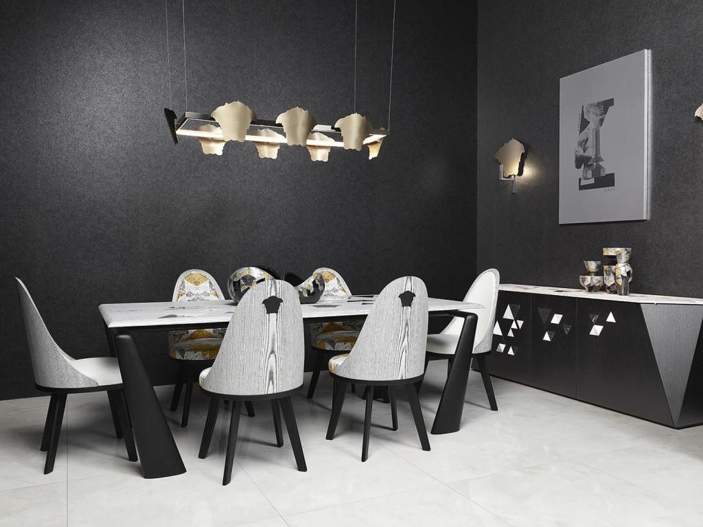 Versace Home 2017 VM11系列餐廳裝飾