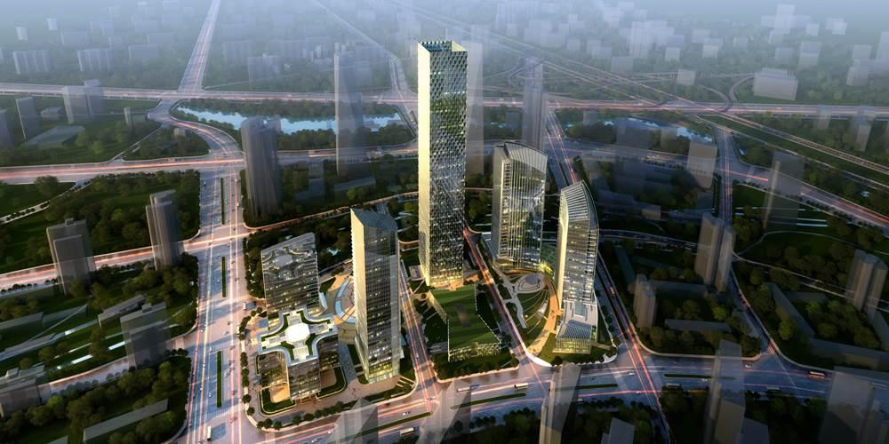 世邦魏理仕CBRE:阿里巴巴北京總部-望京綠地中心